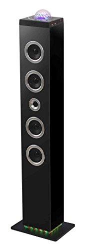 Bigben Interactive TW10 Sistema Audio 2.1 con Radio, Nero