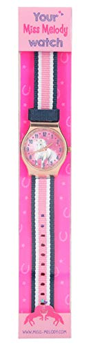 Depesche 5760 Armbanduhr mit Stoffarmband, Miss Melody, Sortiert, bunt