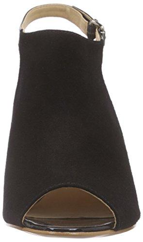 Primafila 42-23707, Sandales Bride cheville femme Noir - Noir
