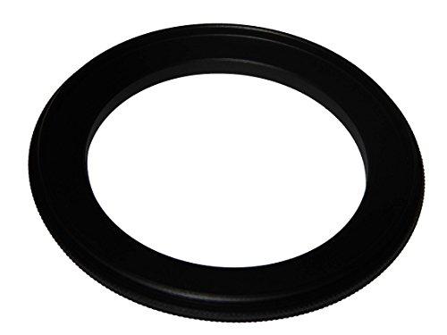 vhbw Step UP Filter-Adapter 49mm-62mm schwarz für Kamera Canon Casio Pentax Olympus Panasonic Sony Nikon Ricoh Sigma Tamron Samsung Agfa Minolta Kodak