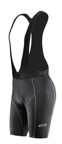 Ravx Damen Race Bib Shorts, Damen, schwarz -
