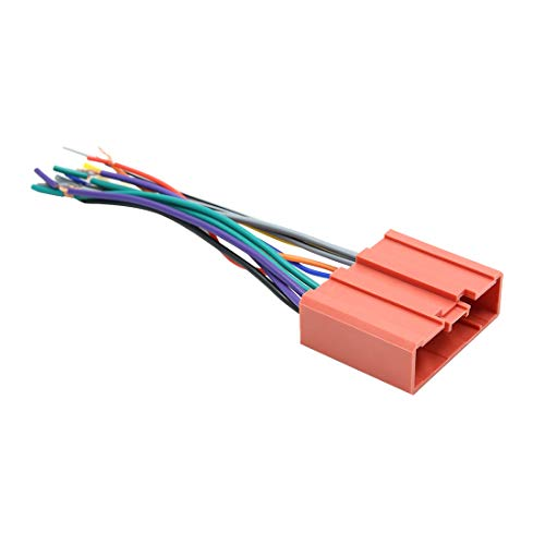sourcing map DC 12V 10 Pin Auto Buchse DVD Radio Kabelbaum Adapter Anschluss 97 Aftermarket-stereo
