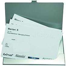 Alassio Visitenkartenetui Aus Aluminium In Matter Optik Etui Fur Ca 10 Visitenkarten Porte