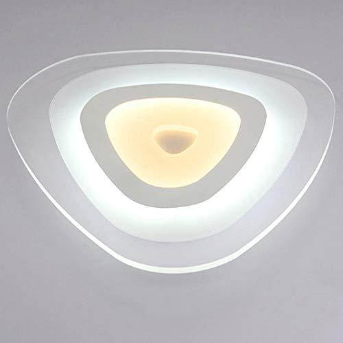 LRXHGOD LED Deckenleuchte rundes Acryl innen warmes Licht Moderne minimalistische ultradünne Restaurant Schlafzimmer Veranda Lampen,80x10cm -