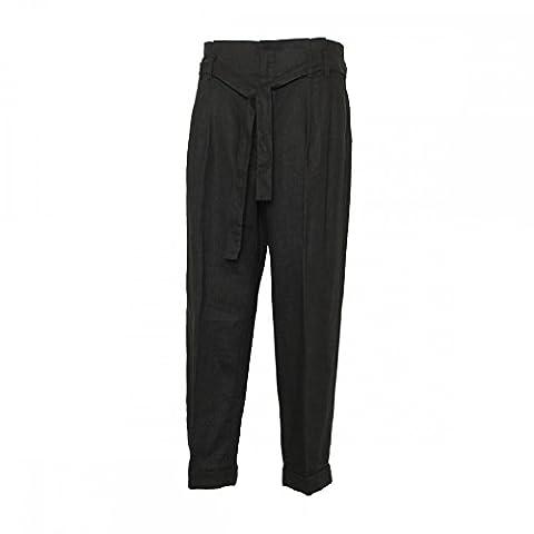Mac Jeans Crop Pants Bow 18 Black