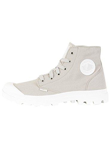 Palladium Pampa Hi Blanc, Sneaker a Collo Alto Unisex – Adulto Grigio (Vapor/white/white G22)