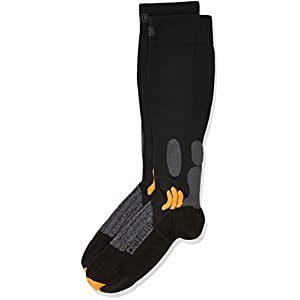 3123liO6bEL. SS300 X-Socks, Calzini Sportivi Unisex Adulto Mountain Biking Energizer, Nero (Black), 35/38