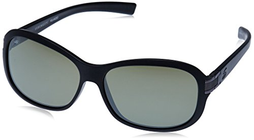 Serengeti Damen Isola Polarized 555nm Sonnenbrillen, Sanded Black Glitter/Blue, M/L