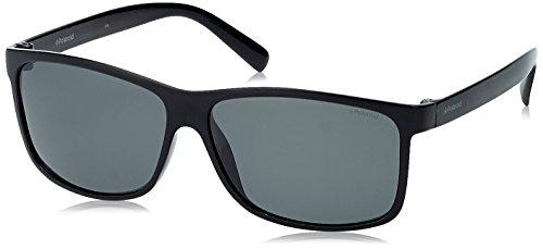 Polaroid PLD 3010/S Y2 D28 59, Gafas de Sol para Hombre, Negro (Shiny Black/Grey Pz)