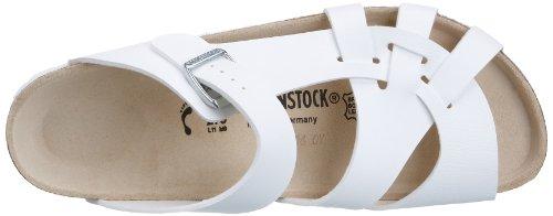 Birkenstock Classic PISA Damen Pantoletten Weiß