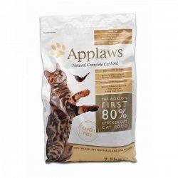 Applaws Haustier Katze Snacks Futter Katzenfutter Cat Food Trockenfutter Katzentrockenfutter mit Hühnchen 7,5 kg-1PACK