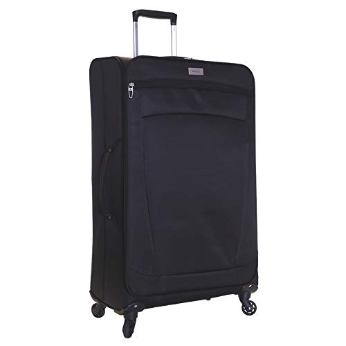 Karabar Marbella 79 cm valigia super leggero, Nero