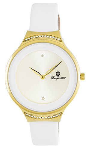 Burgmeister Women's Analogue Quartz Watch with Leather Strap BM810-286