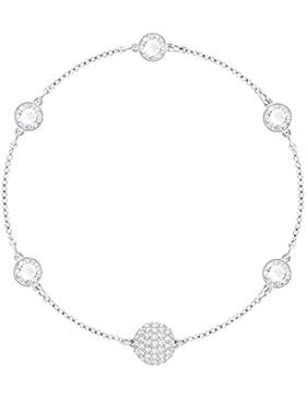 Swarovski Damen - Armbänder Messing Rund Kristall