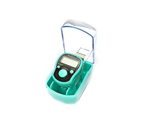 yeah67886Fashion verstellbare Finger Ring Hand Elektronische Digital-Handzähler (grün)