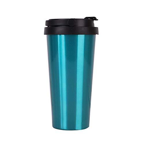 Hotaluyt Studenten Edelstahl Insulated Coffe Cup Fest Farbe Tumbler Tasse Tragbarer Wasserbehälter