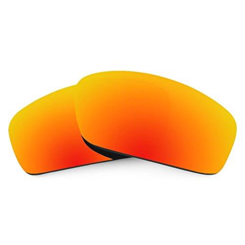 Revant Ersatzlinsen für Oakley Splinter Feuerrot MirrorShield®