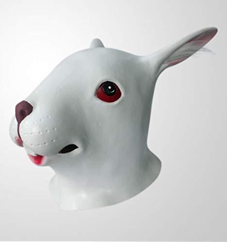 Kostüm Platz Werwölfe - Lookhy Halloween Maske,Kaninchen Stil Maske Schmelzen Gesicht Erwachsene Latex Kostüm Halloween Beängstigend Maske Horror Teufel Kostüm Ball Werwolf Cosplay Wolf Kopfbedeckung Handschuhe