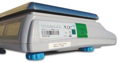 Balance poids-prix ohne Ticket 15kg x 5g–Balance für Handel oder Markt mit Zulassung (Bild Grüne von 2Jahren) - 2
