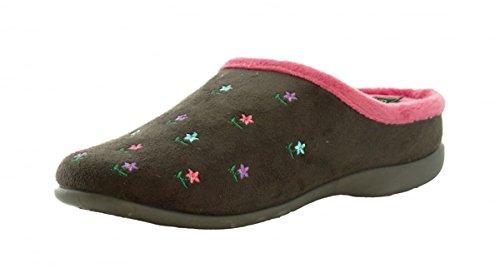 Pantofole da Casa Memory Foam - Donna Grey