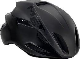 MET Casco 'Manta' casco da bicicletta, nero - taglia M