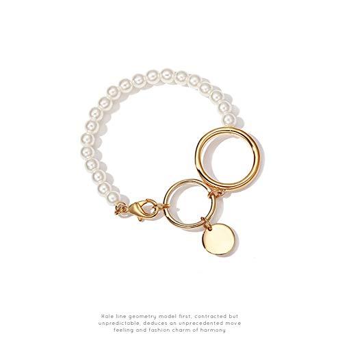 Armbänder Armband Imitation Perle Armband Weiblichen Ins Kühlen Wind Temperament Schmuck Nische Design Schmuck Beliebten Schmuck - Kühle Küsse