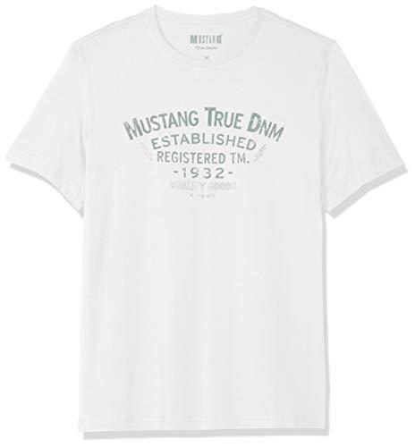 MUSTANG Herren Regular Fit Printed T-Shirt -