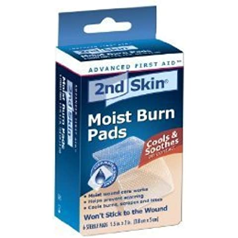 Spenco 2nd Skin Burn Pad 1-1/2x2 by Wound
