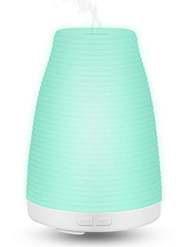 Liyalo Difusor Aroma LED Ultrasonico Aceites Esenciales