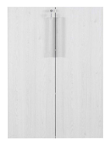 Trendyitalia 12551Kit 2Türen H, Holz, Birke, 90x 125x 1,8 (2 Regal Bücherregal Birke)