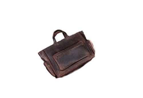 Messenger Leder Tasche für Herren. Handgefertigt aus echtem Leder Laptop Tasche für Frauen (Clava Aktentasche Damen)