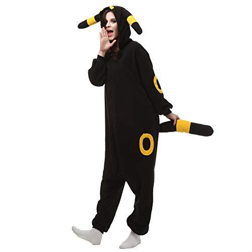 AGOLOD Erwachsene Unisex Sleepsuit Cartoon Tier Pyjamas Halloween Cosplay Kleidung Overalls - Tier Kleidung Damen