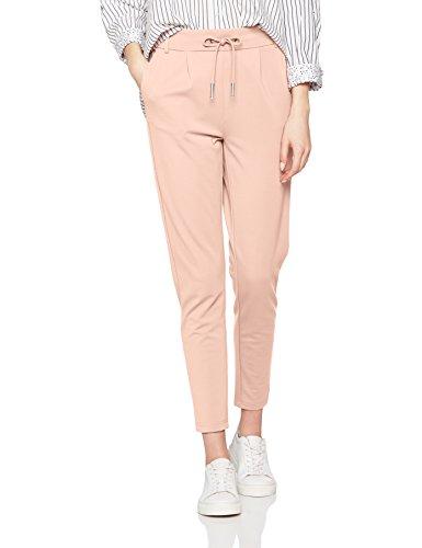 ONLY Damen Hose onlPOPTRASH Easy Colour Pant PNT NOOS, Rosa (Rose Smoke), 42 (Herstellergröße: XL)_W42/L34 UK