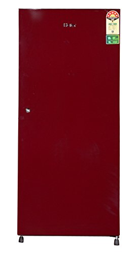 Haier 195 L 5 Star Direct-cool Single Door Refrigerator (hrd-2157sr-r, Burgundy Red)