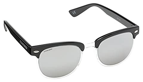 Cressi Unisex Panama Sports Sunglasses, Black/Light Grey Lens,