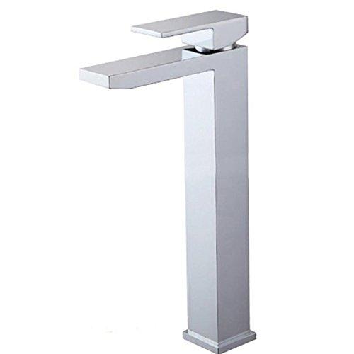 Küche oder Badezimmer Waschbecken Mischbatterie das Kupfer Double-Hole Leitungswasser Wasserventil mit Duschen und kaltem Wasser Bad mit Doppel Washbrass, bilateralen und großes Panel Dusch-kit -