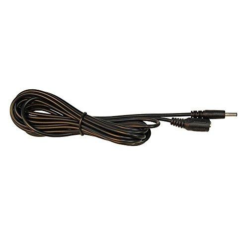 HQRP 1.35mm / 3.5mm CC cable extensión macho hembra