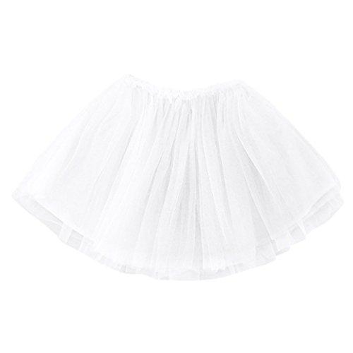 Babykleidung❀❀ JYJMNettes Säuglingskleinkind-Baby-Mädchen-feste Kleidungs-Tutu-Prinzessin Rock (Größe: 9 Monate, (Frauen Ideen Nette Kostüme)