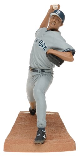 Mcfarlane MLB Series 9 Figure: Mariano Rivera with Gray Yankees Jersey by McFarlane Toys -