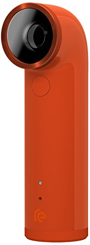 "HTC RE Camera - Cámara deportiva (1920 x 1080 Pixeles, CMOS, 16 MP, 1/0,0906 mm (1/2.3""), Micro-USB, MicroSD (TransFlash)) Naranja"