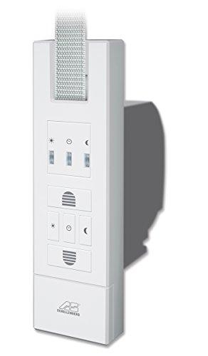 Schellenberg 22726Elektrischer Gurtwickler Rollodrive 65Standard Schwenkwickler, weiß