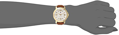 Tommy Hilfiger 1781438–Watch For Women, Brown Leather Strap