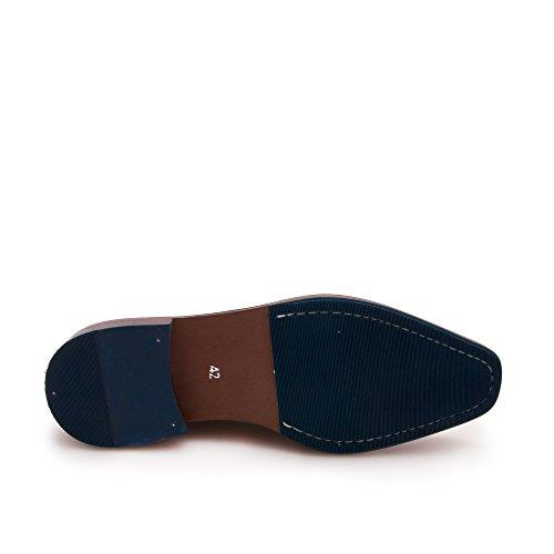 Zerimar Herren Lederschuh Eleganter Herrenschuhe Komfortabler Schuh für Den Mann Hochwertige Leder Schuhe Elegant mit Lederfutter 100% Leder