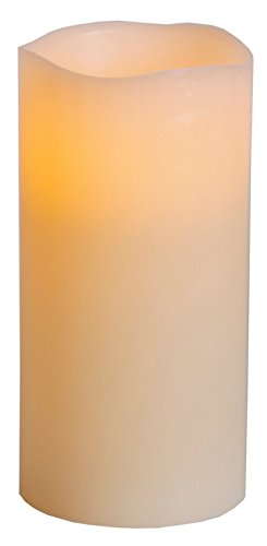 Star 20x 10cm vela de cera con luz LED