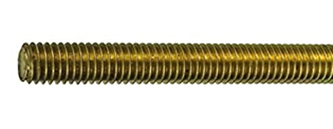 CONNEX DY250709 M8 x 1m Brass Threaded Rods