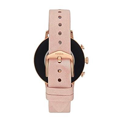 Fossil Q Gen 4 Hr Digital Gold Dial Women's Watch-FTW6015