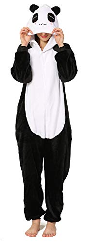 Yimidear® Unisexe Hot Adulte Pyjamas Cosplay Costume d'animal Onesie de nuit de nuit - S - Giant Panda