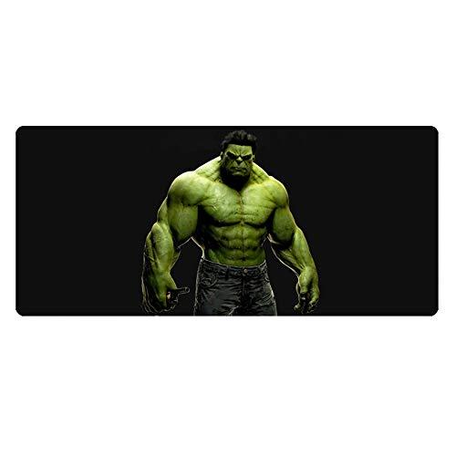 vengers Around Iron Man Captain America Hulk Oversized gepolsterte Naht 900 x 400 x 3 mm Computer-Schreibtischunterlage, rutschfestes Mauspad ()