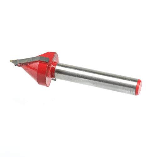 Preisvergleich Produktbild Yangge Yujum 60 Diplom-Fräser Schaft Holz Werkzeuge V Typ Schnitzen Trimmen Wolframstahl Gespitzte Fräser