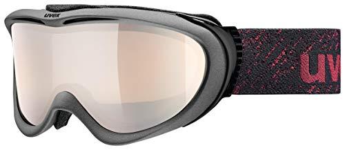 Uvex Unisex Erwachsene Comanche VLM Skibrille, Anthrazit Matt, One Size
